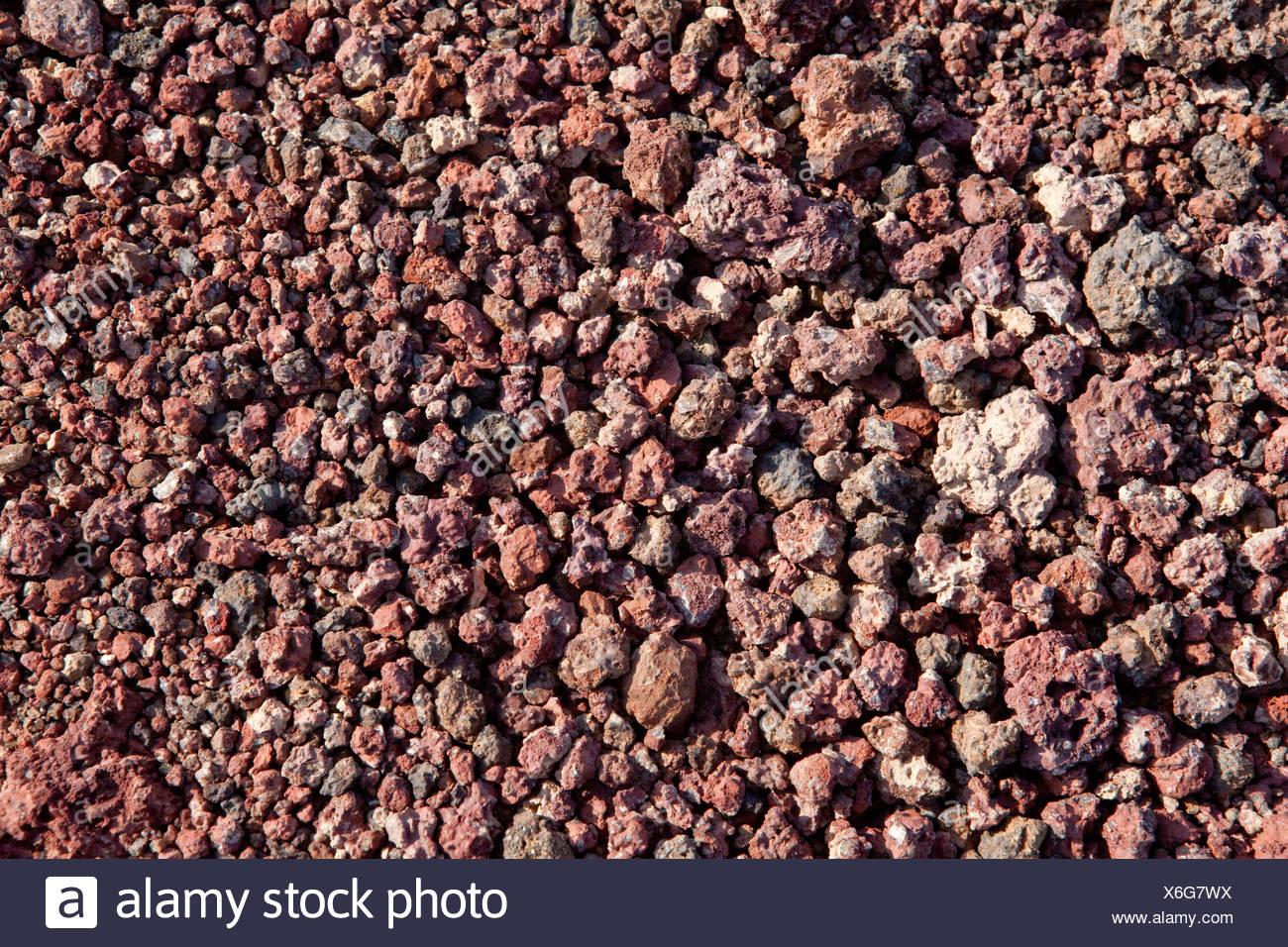 volcanical, rock, Ardoukoba, Assal, Africa, structure, Djibouti, - Stock Image