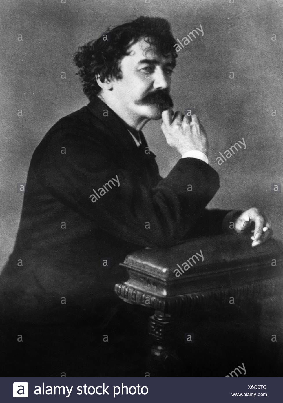 Whistler, James Abbot McNeill, 10.7.1834 - 17.7.1903, US painter, photo, 19th century, Additional-Rights-Clearances-NA - Stock Image