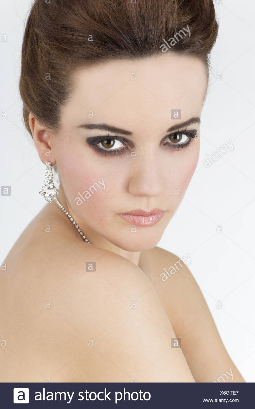 Young woman Portrait - Stock Image