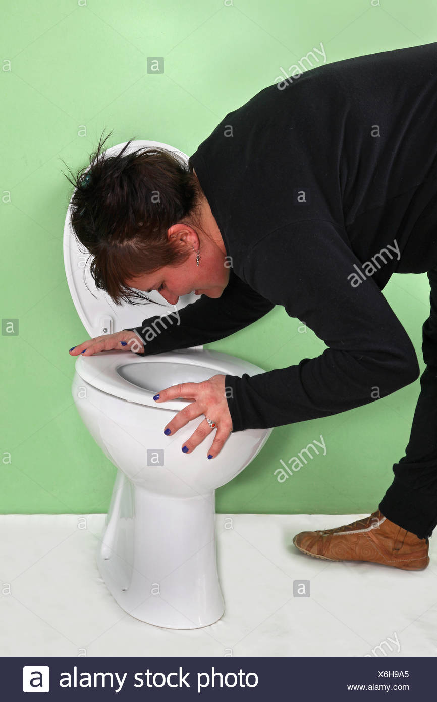 Morning sickness - Stock Image