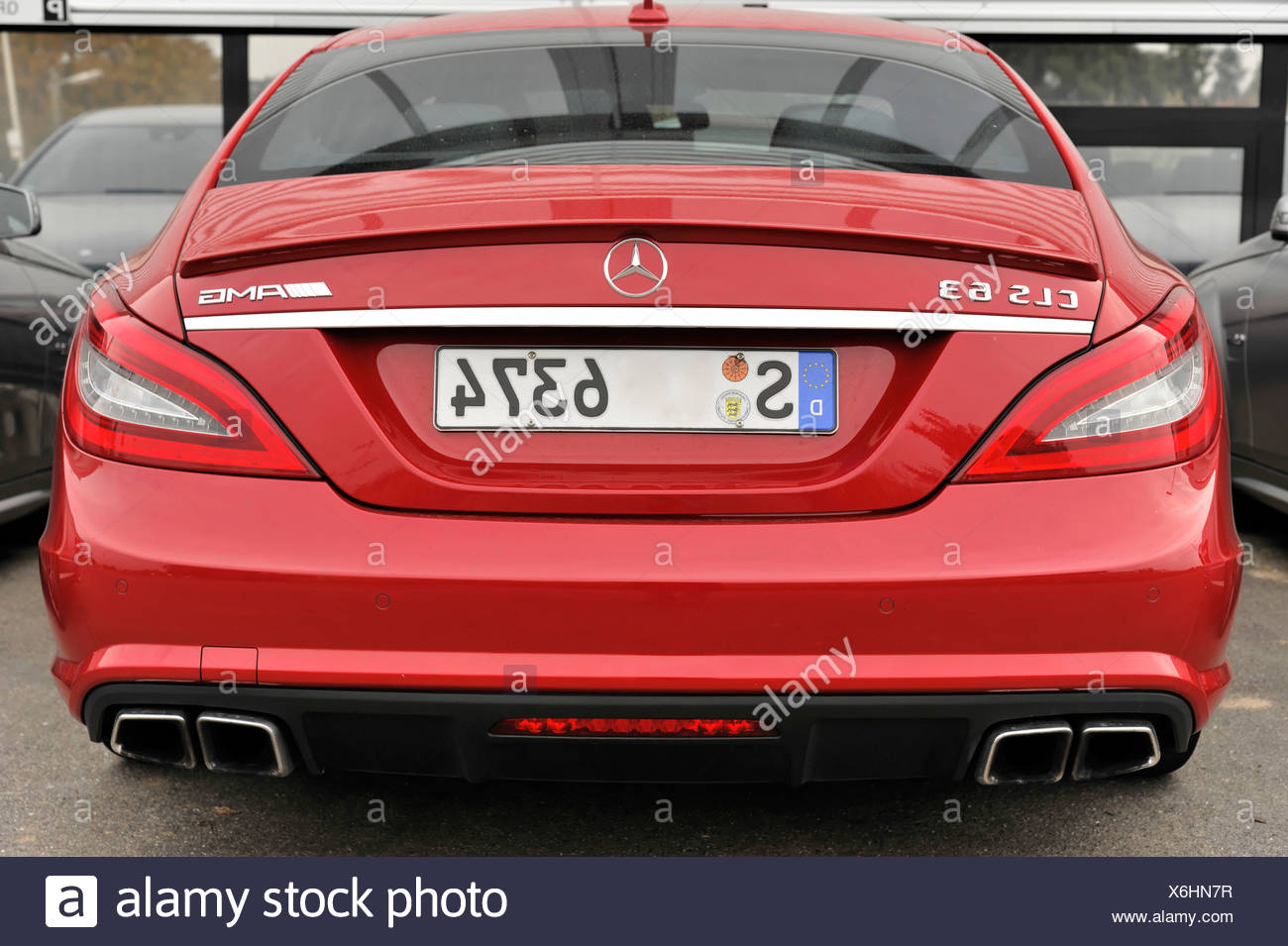 6.3, CLS 63, Mercedes-AMG, 514 hp - Stock Image