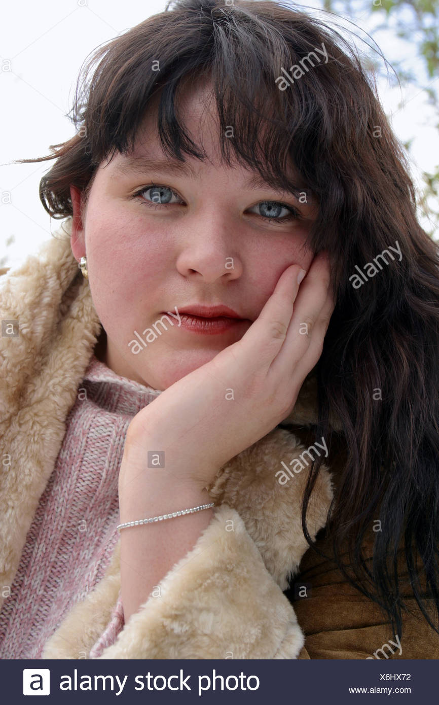 Chubby Fat Girls Overweight Stock Photos & Chubby Fat