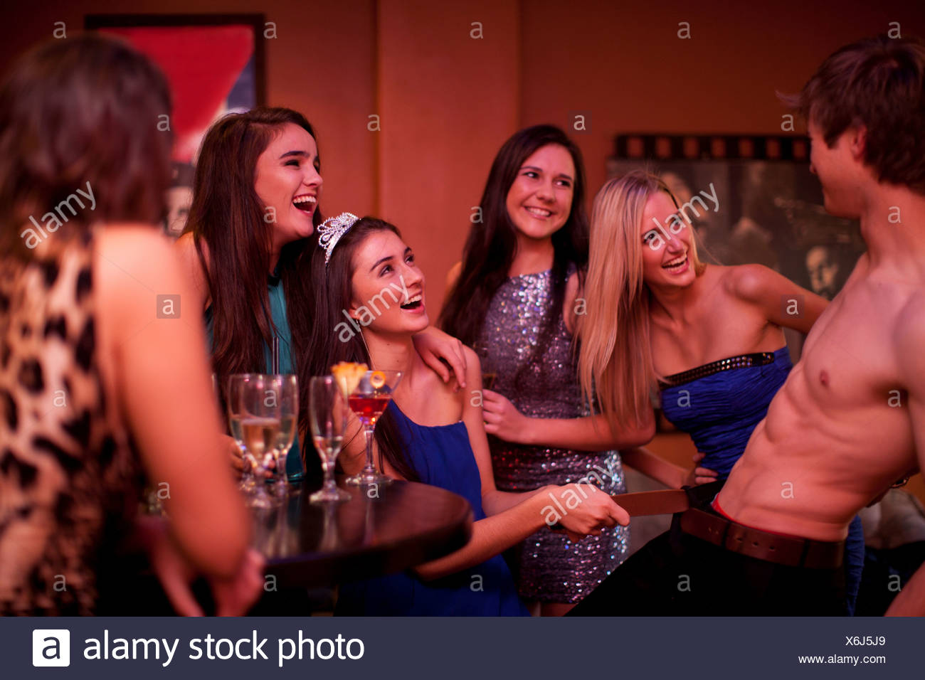 stripper party Women hen male
