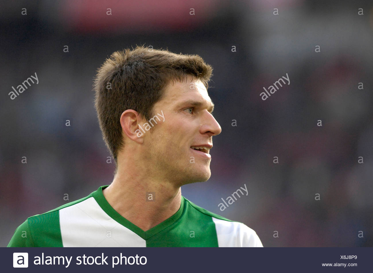 Peter VAN DER HEYDEN VfL Wolfsburg Stock Photo