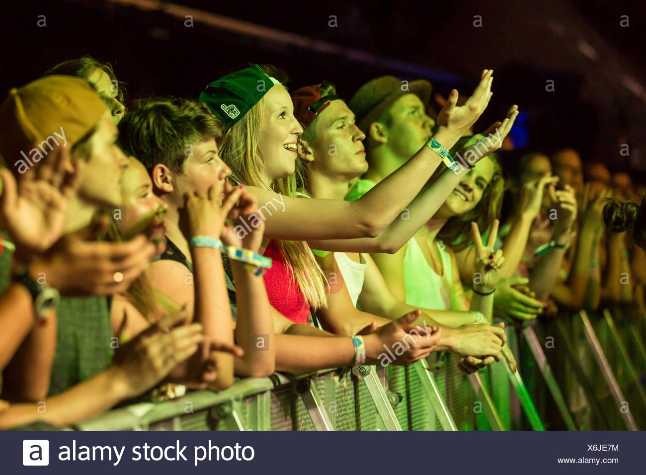Kodaline (Fans) - Stock Image