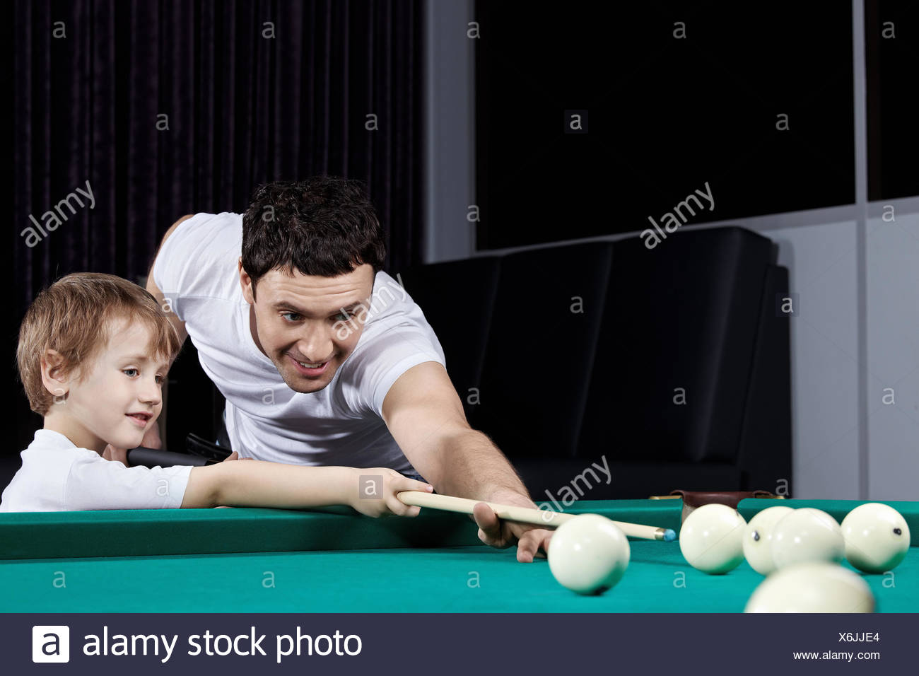 The players - Stock Image