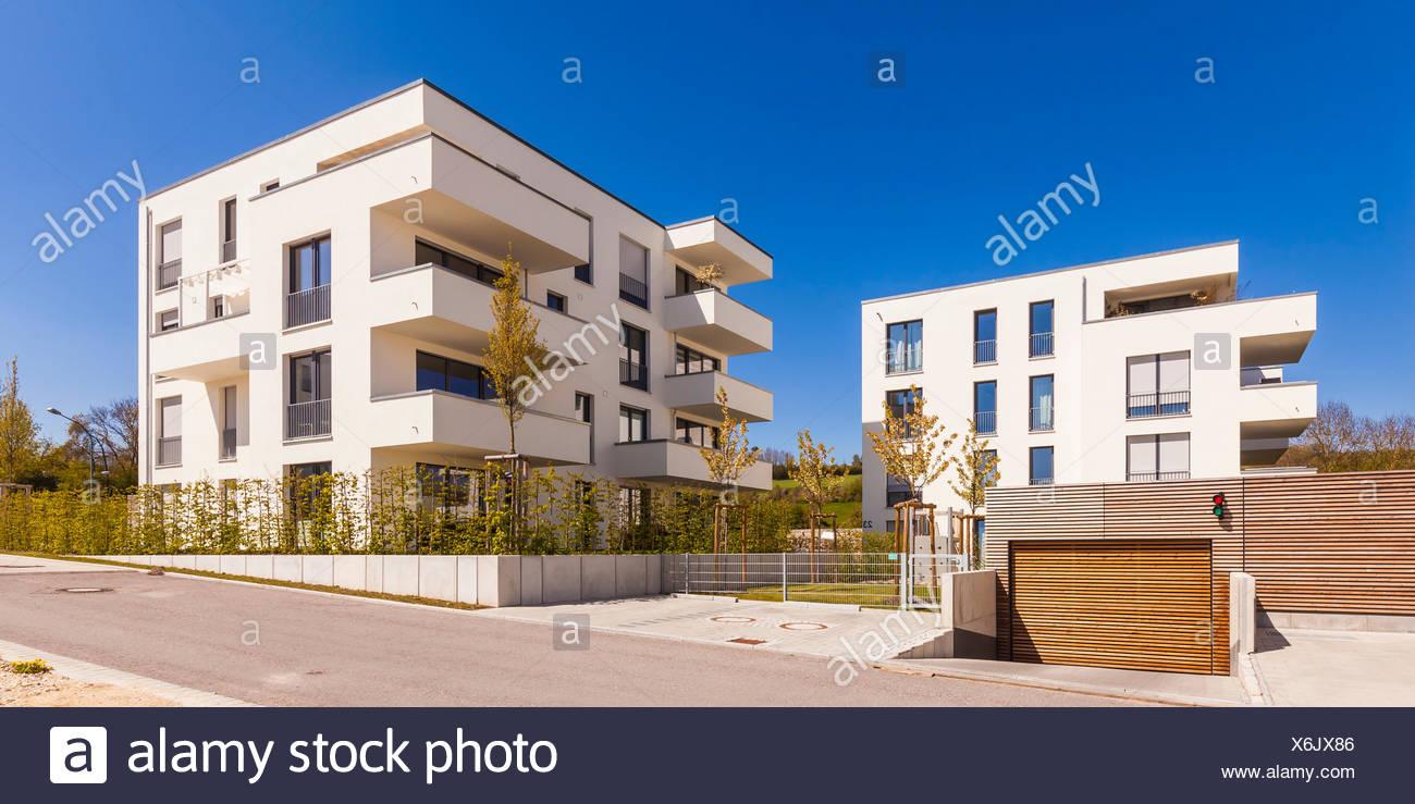 Innenarchitektur Moderne Mehrfamilienhäuser Dekoration Von Deutschland, Baden-württemberg, Tein, Mehrfamilienhäuser, Neubau, Wohnungen, Bauen,