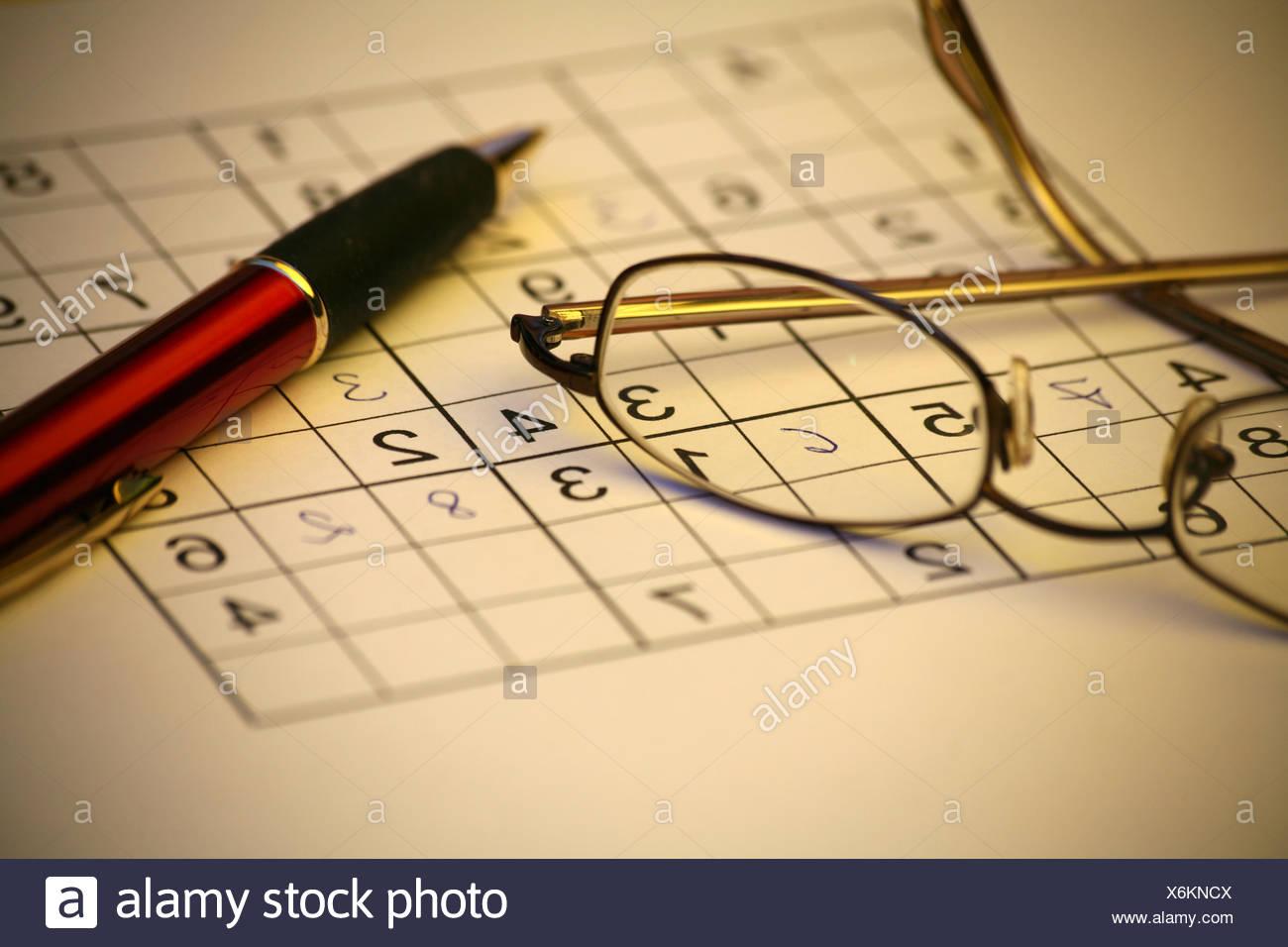 tricky - Stock Image
