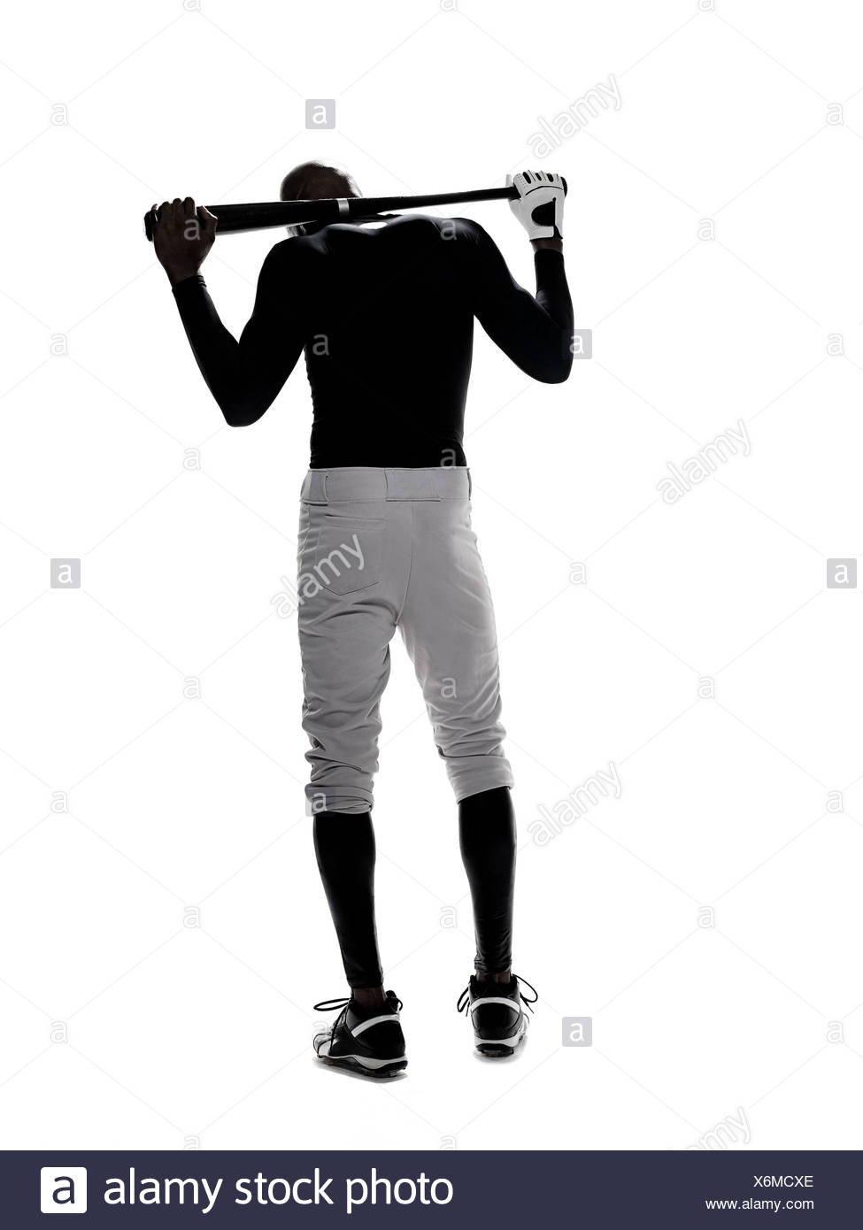 Disappointed baseball player - Stock Image