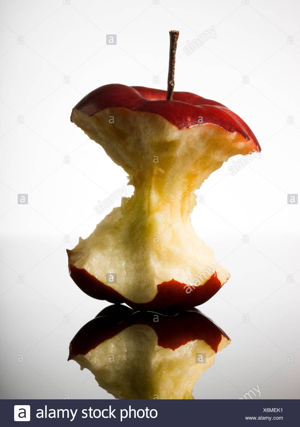 apple core - Stock Image
