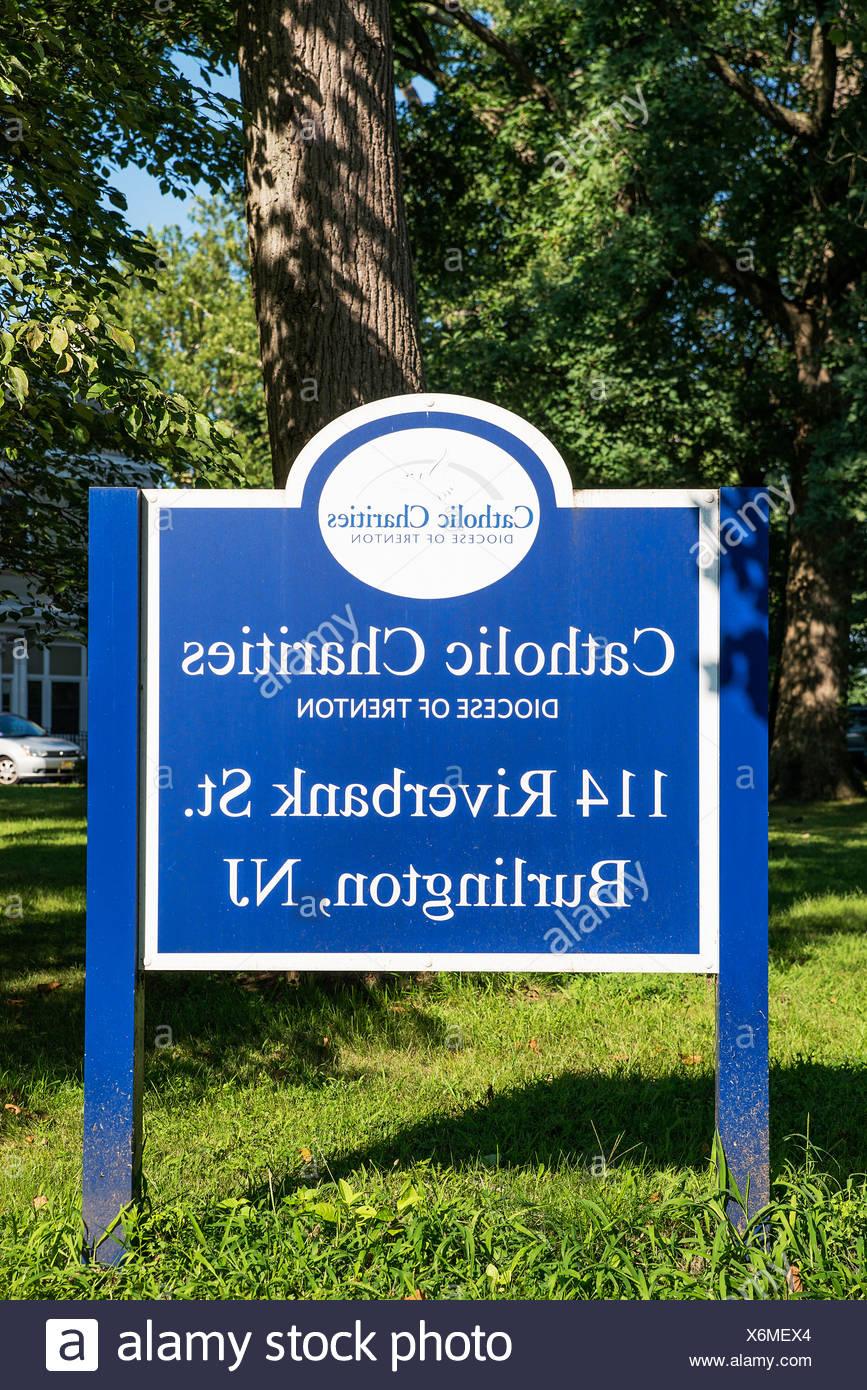 Catholic Charities Agency, Diocese Trenton, Burlington, New Jersey, USA Stock Photo