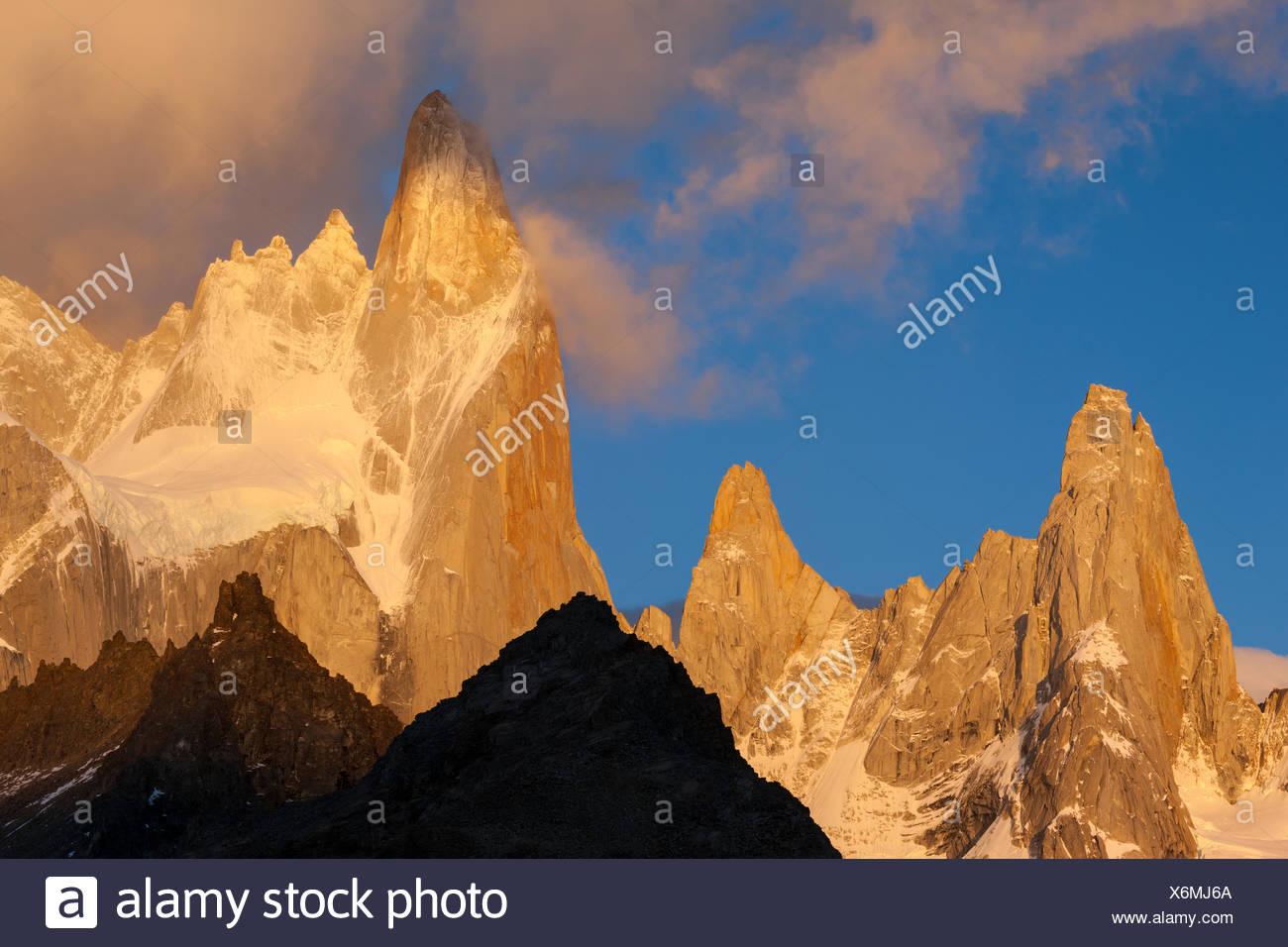 Cerro Poincenot,Argentina,Patagonia - Stock Image