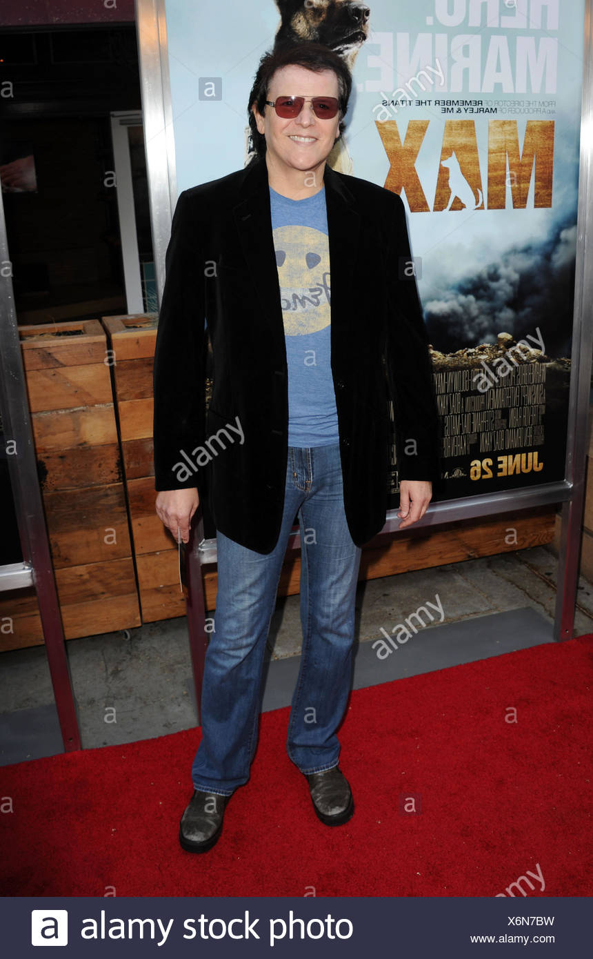 Composer/musician Trevor Rabin attends the Los Angeles premiere of 'MAX' at the Egyptian Theatre on June 23, 2015 in Hollywood, California., Additional-Rights-Clearances-NA - Stock Image