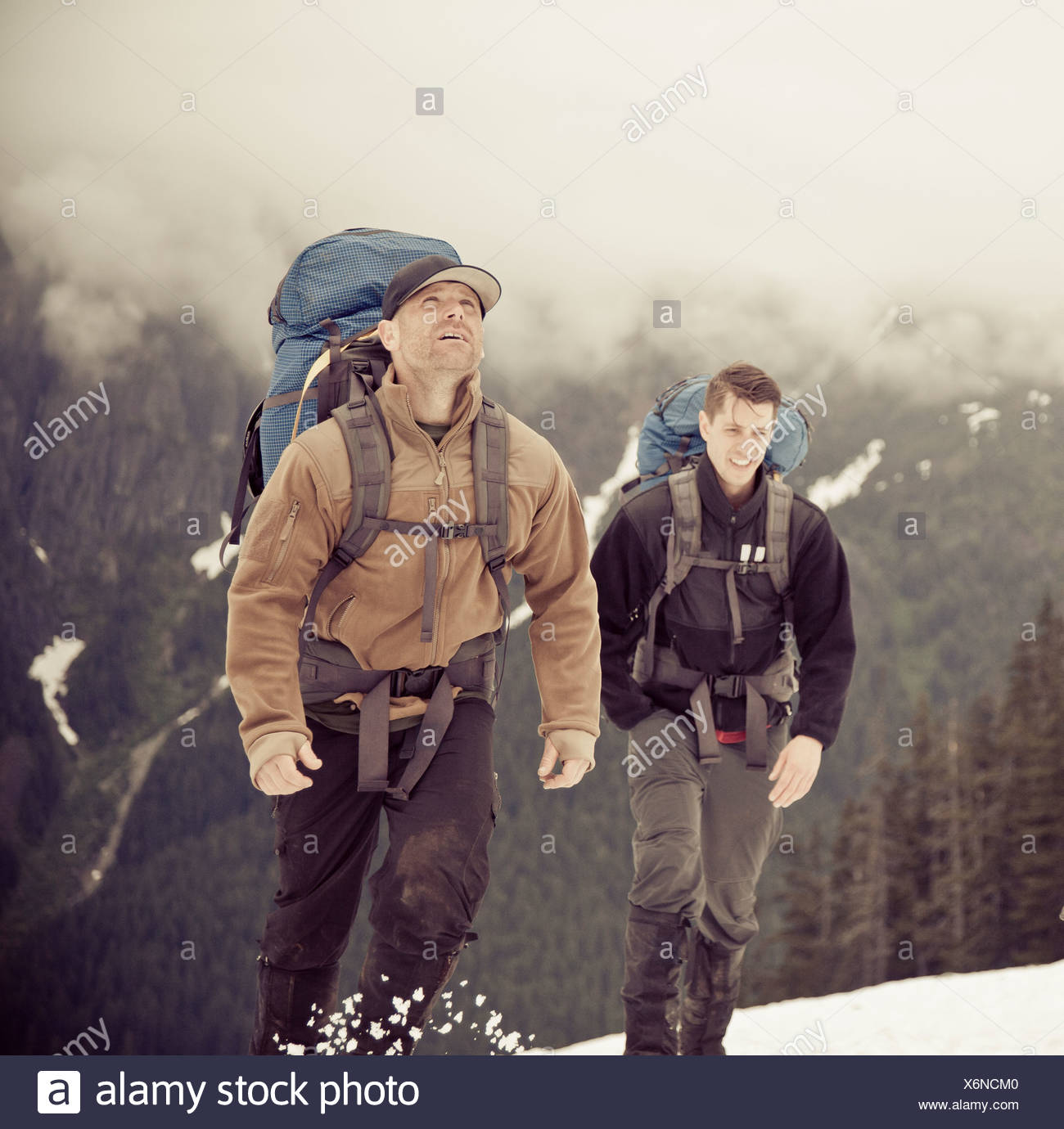 Backpacking - Stock Image