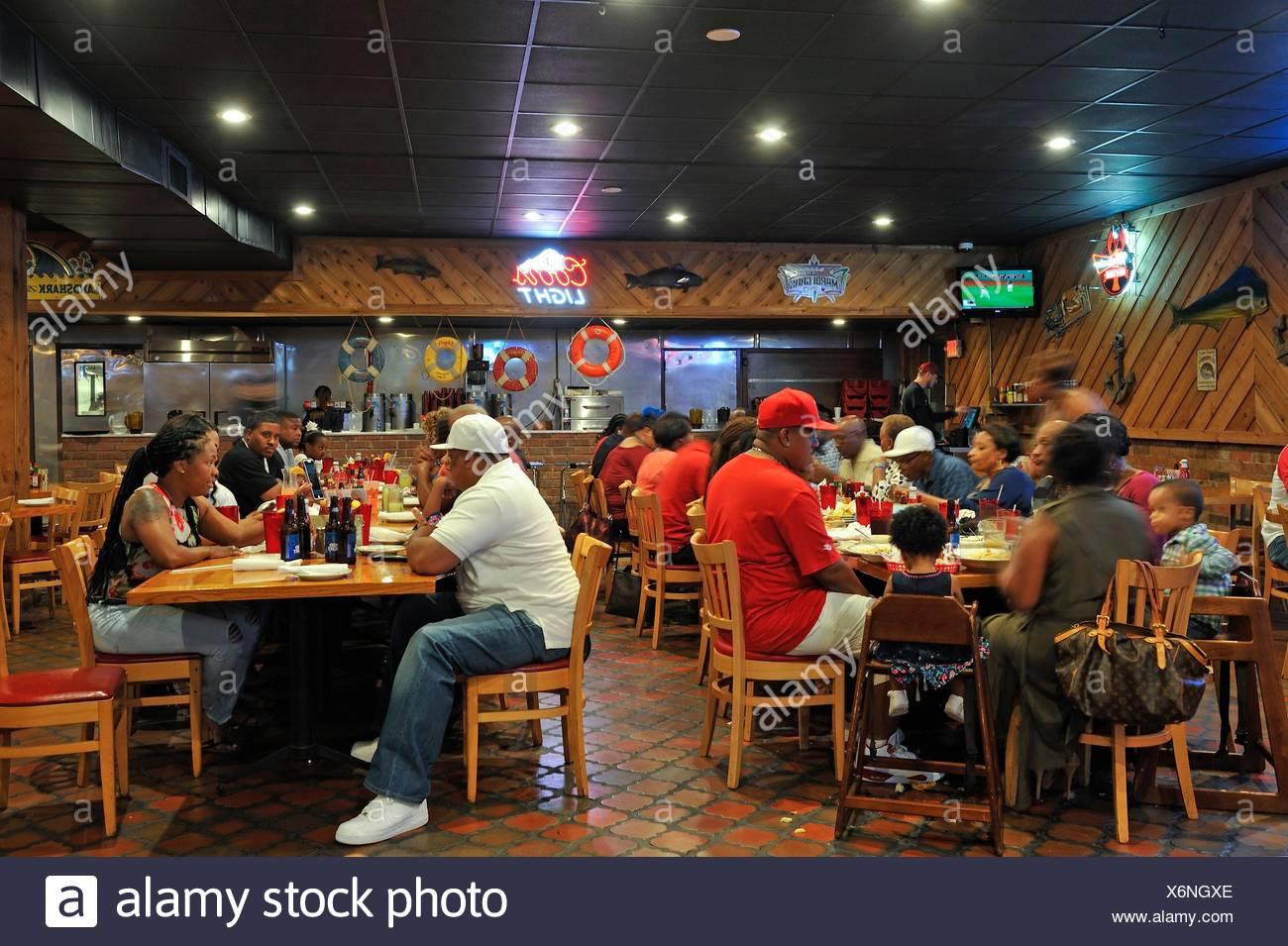 Floyds Cajun Seafood Restaurant Beaumont Texas United States Of