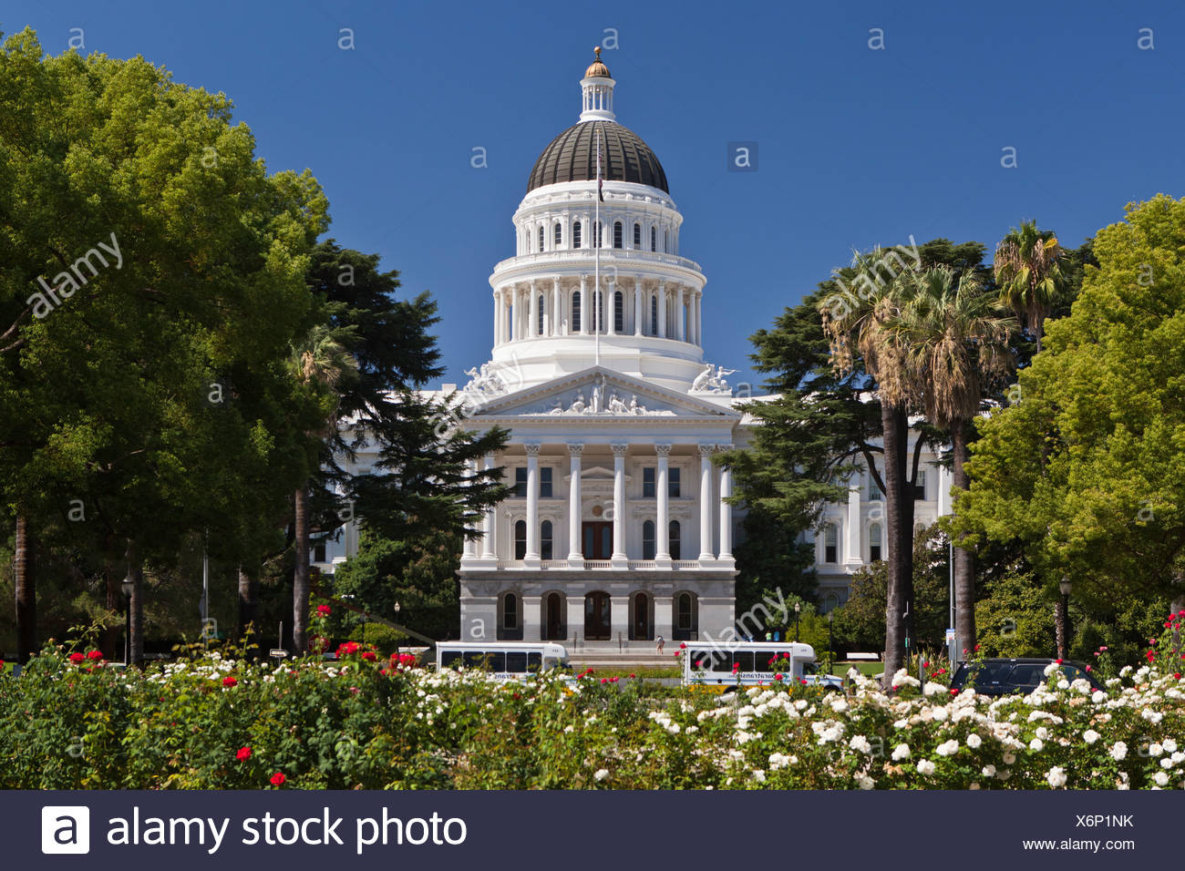 California State Capitol, seat of the legislature