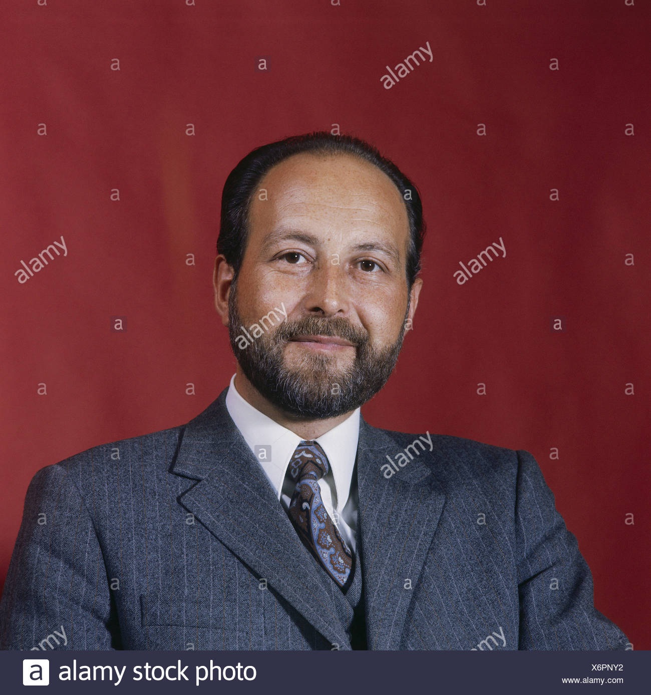 Engelhard, Hans Arnold, 16.9.1934 - 11.3.2008, German politician (FDP), portrait, 1972, Additional-Rights-Clearances-NA - Stock Image