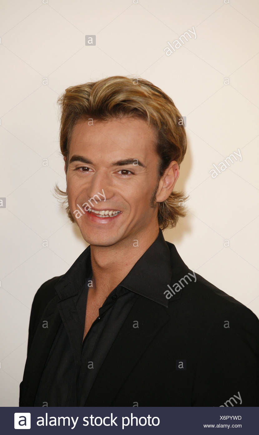 Silbereisen, Florian, * 4.8.1981, German singer (folk music) and moderator, portrait, 2007, Additional-Rights-Clearances-NA - Stock Image