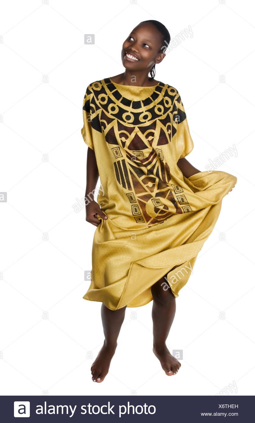woman portrait African - Stock Image
