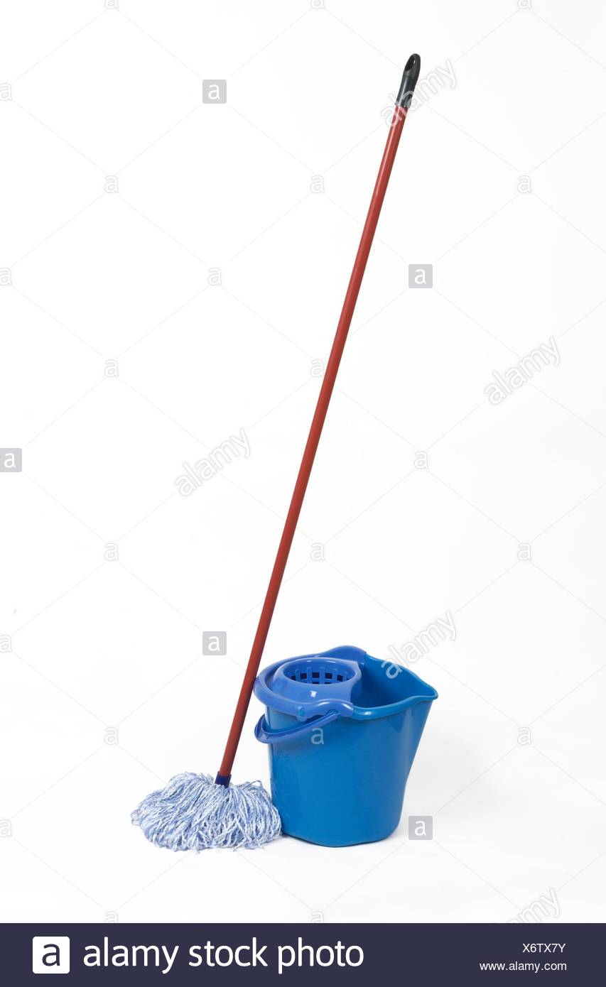 mop. Stock Photo