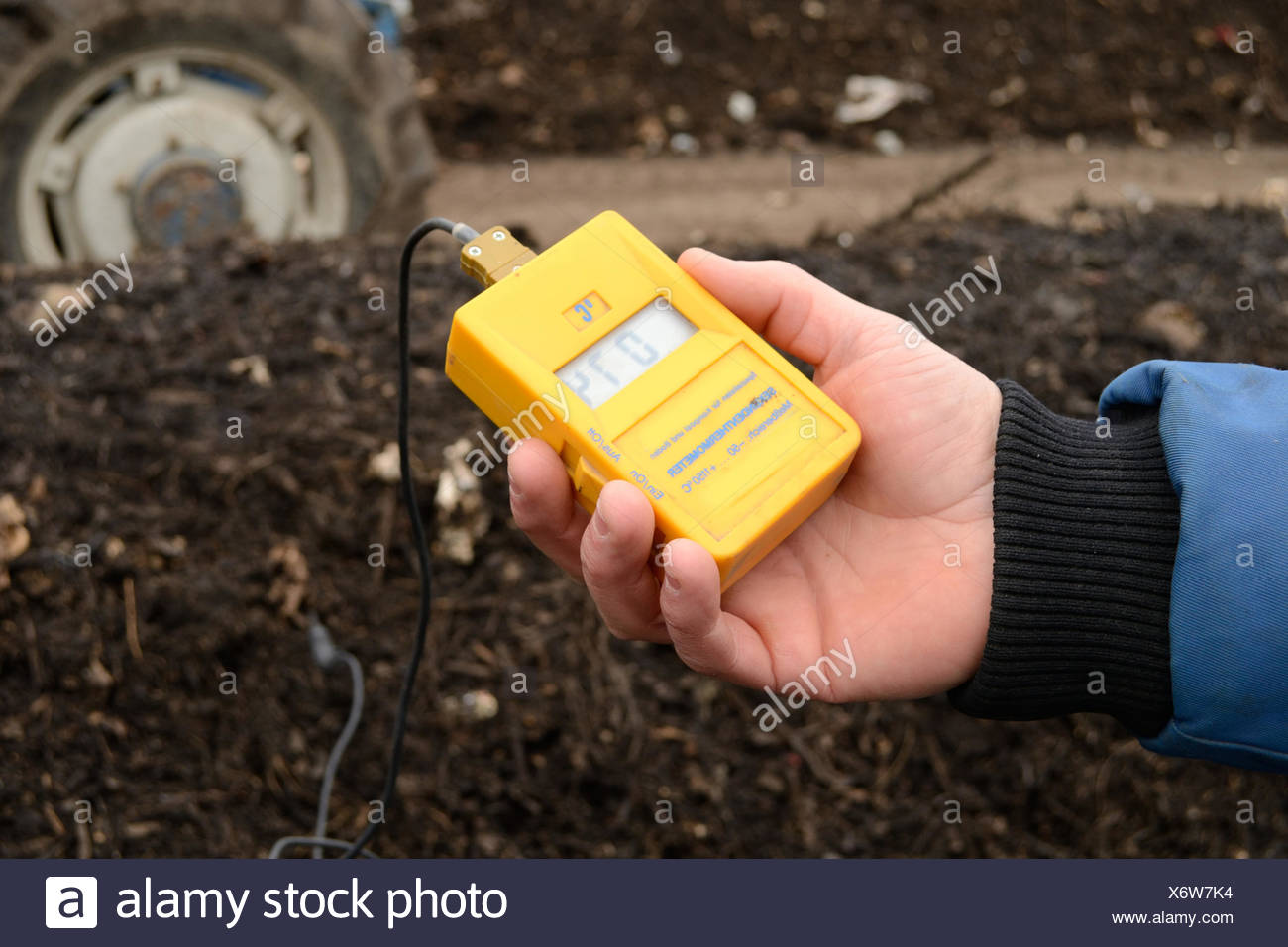 temperature control - Stock Image