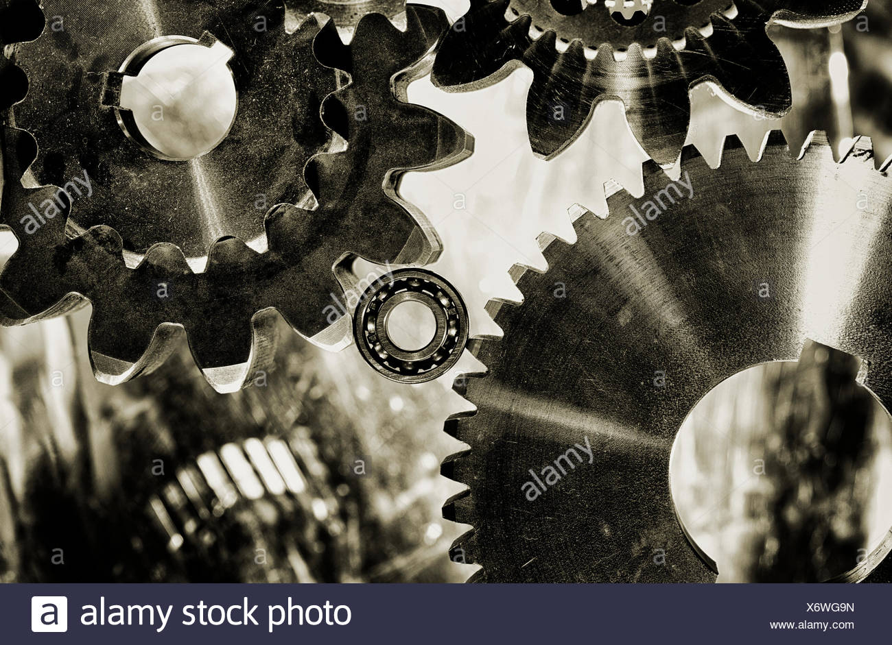Metal Cogs Stock Photos Amp Metal Cogs Stock Images Alamy