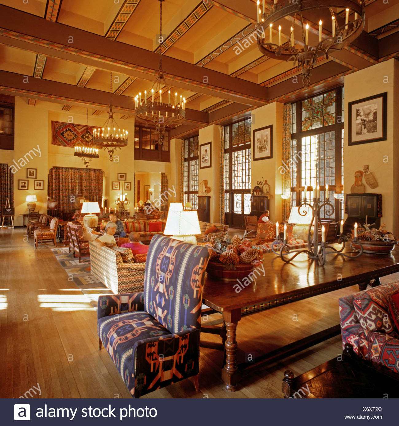The Ahwahnee Hotel Stock Photos & The Ahwahnee Hotel Stock