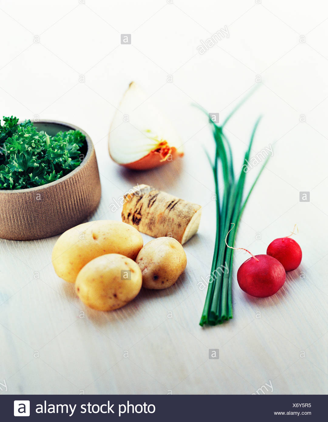 Swedish primary produce. - Stock Image