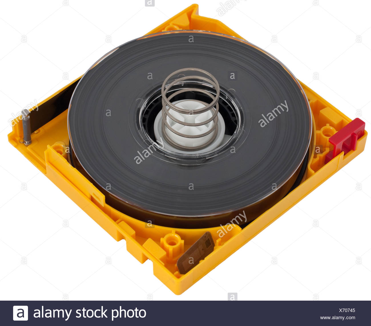 ltoultirumbandbackuprecoverybackup linear tape open rw bandcartridge - Stock Image