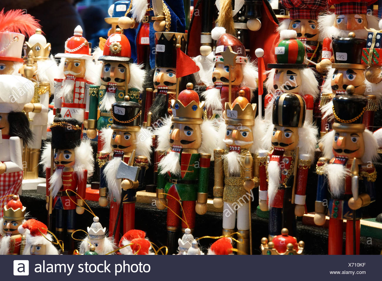 Weihnachtsmarkt am Hahnentor - Stock Image