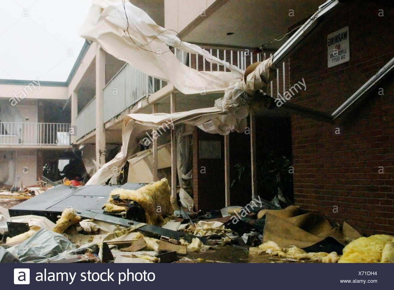 Aftermath of Katrina - Stock Image