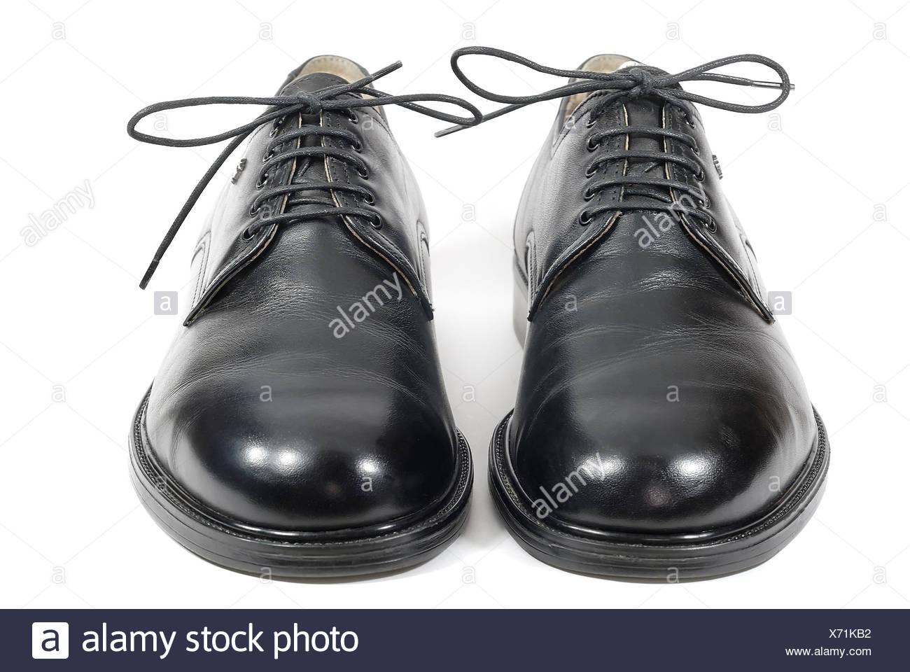 black shoes 04 - Stock Image