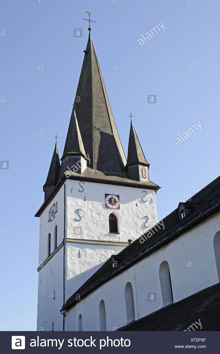 church, Drolshagen, Germany - Stock Image