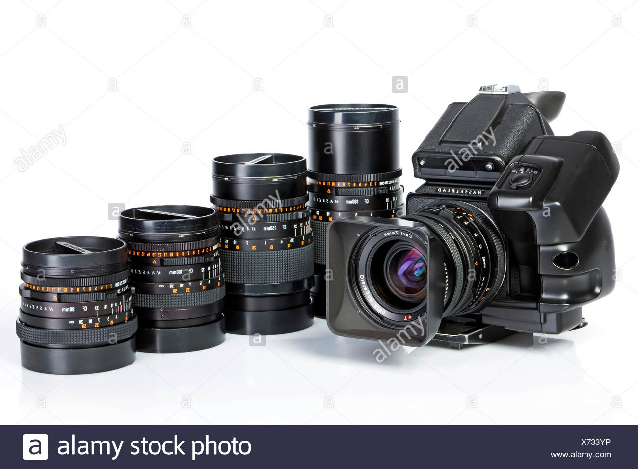 Hasselblad 503CW with lenses Stock Photo: 279737466 - Alamy