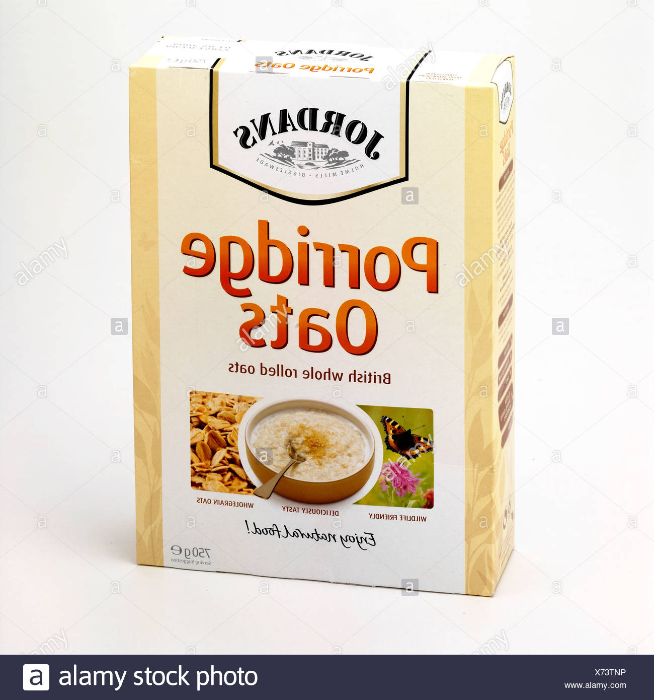 Porridge Oats Box Stock Photos & Porridge Oats Box Stock Images - Alamy