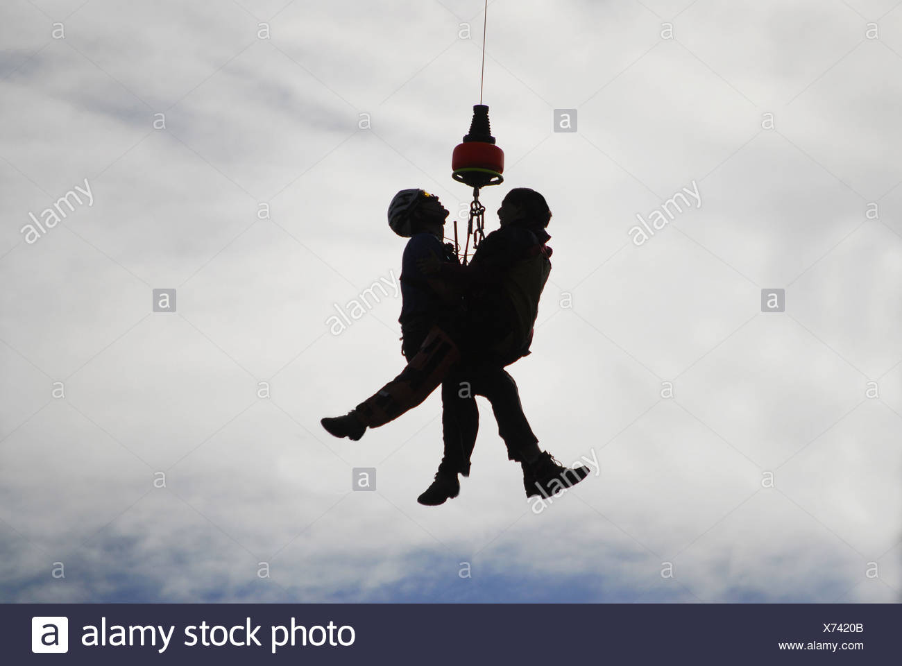 rescue operation - Stock Image