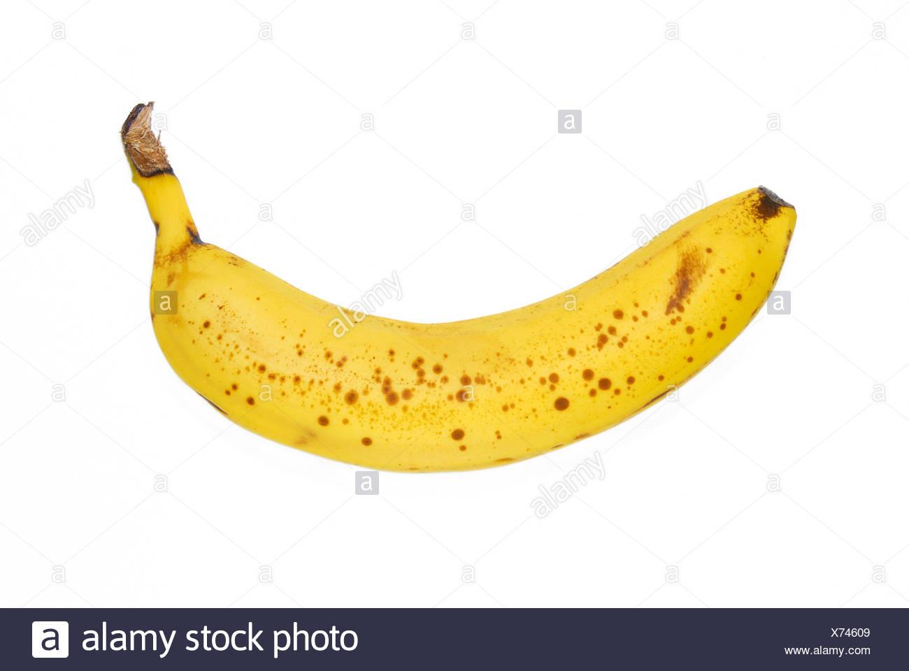Ripe banana - Stock Image