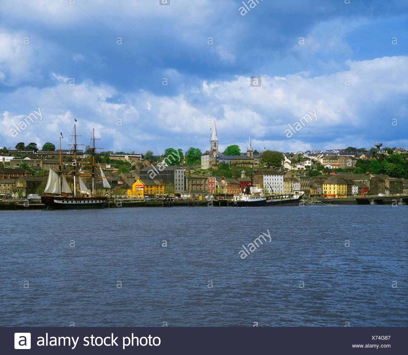 Dunbrody Emigrant Ship, New Ross, Co Wexford, Ireland - Stock Image