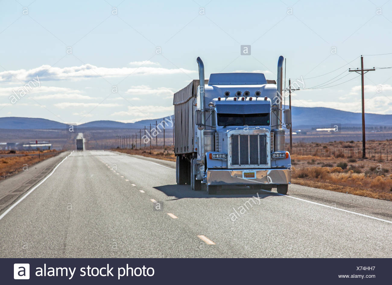 Truck in USA Stock Photo