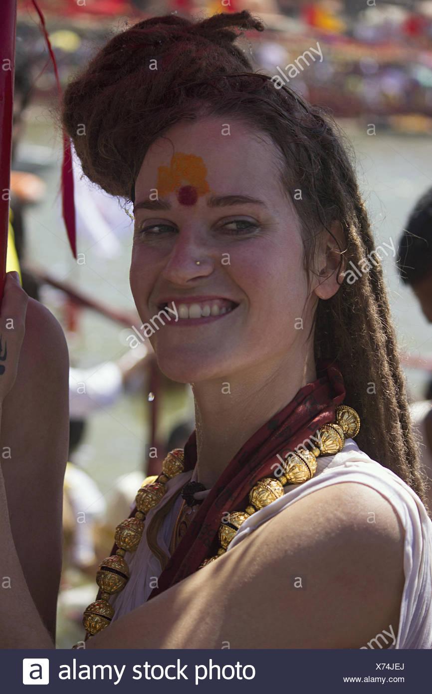 Sadhu Sanyasi Indian Stock Photos & Sadhu Sanyasi Indian