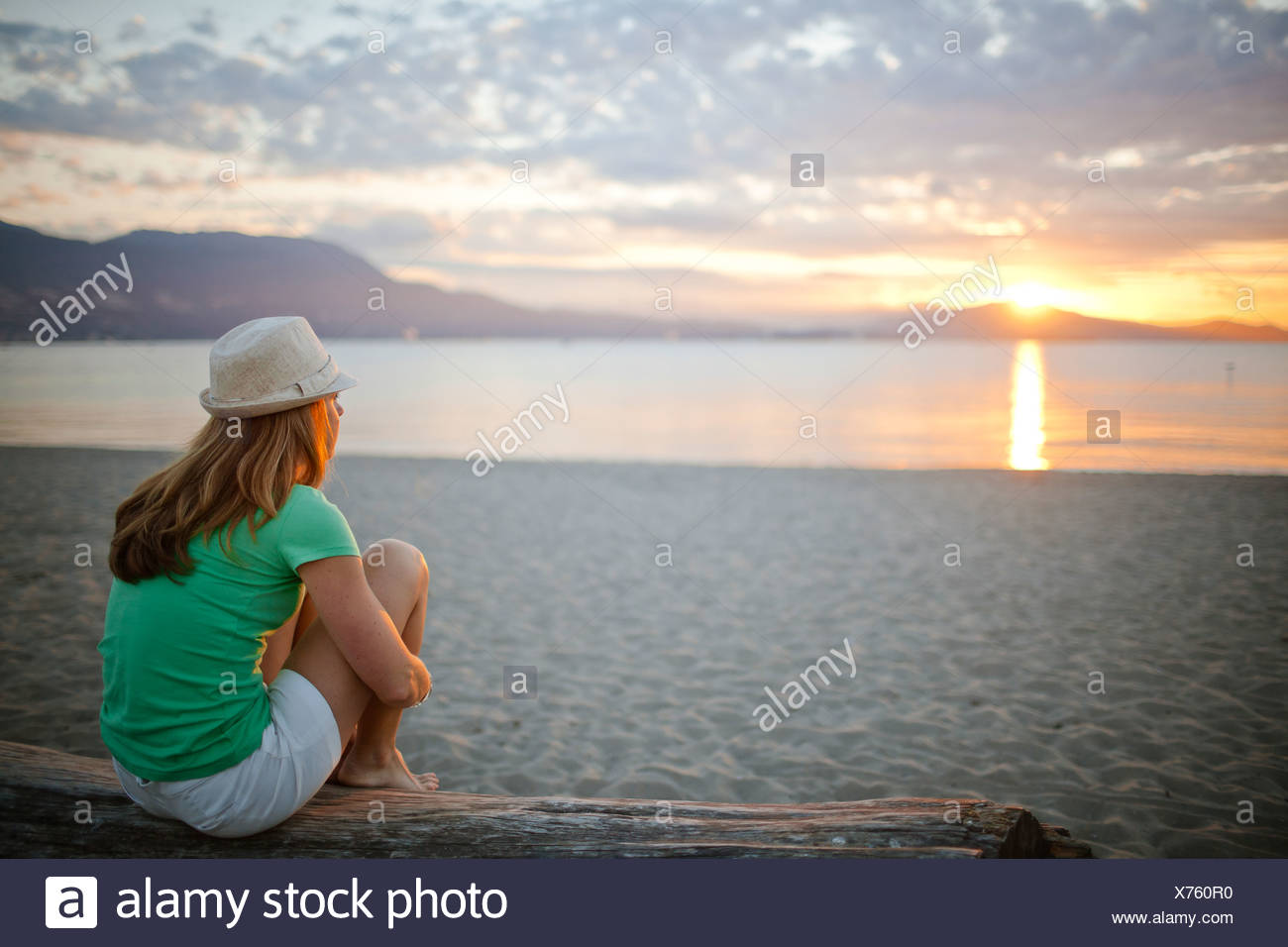 Kits Beach - Stock Image