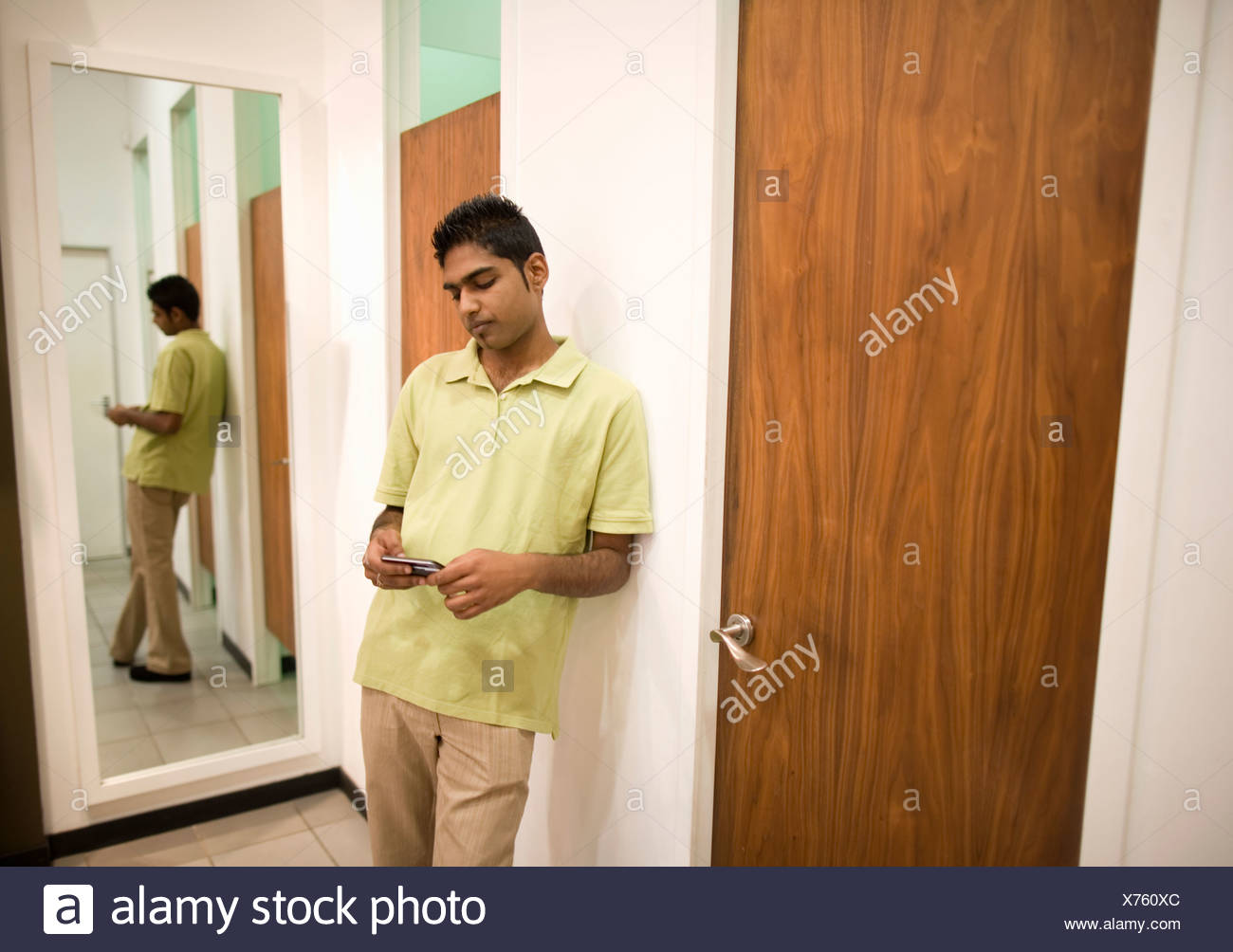 man waiting for woman