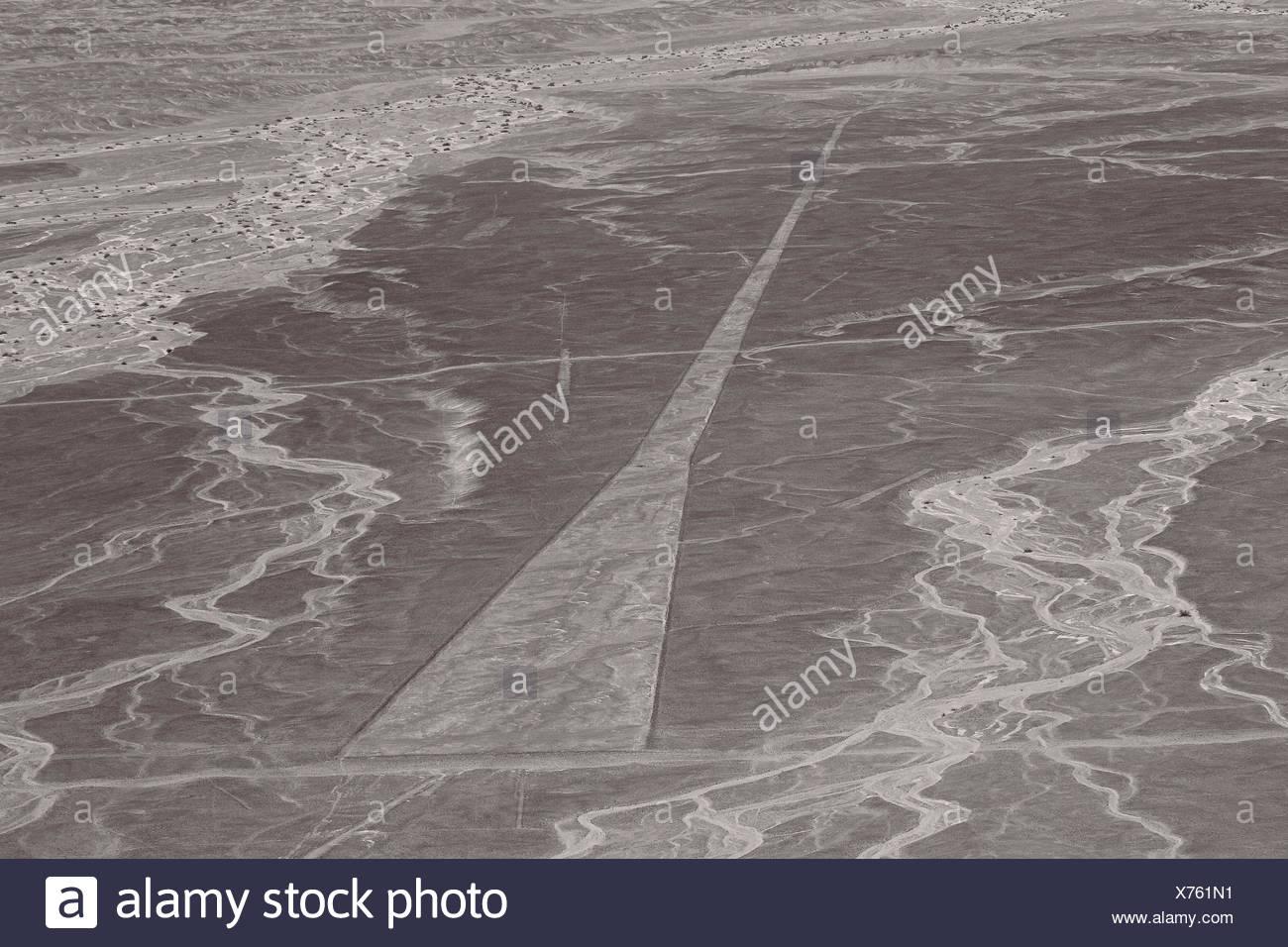 Nazca-Linien, Peru - Stock Image