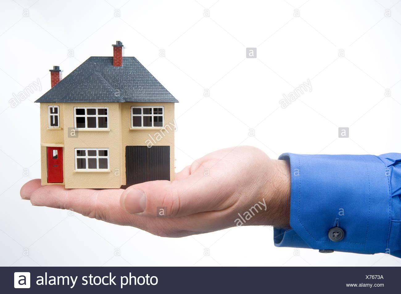 Holding House - Stock Image
