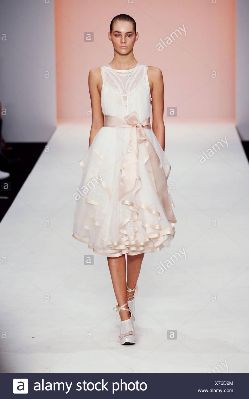 White Chiffon Layered Dress