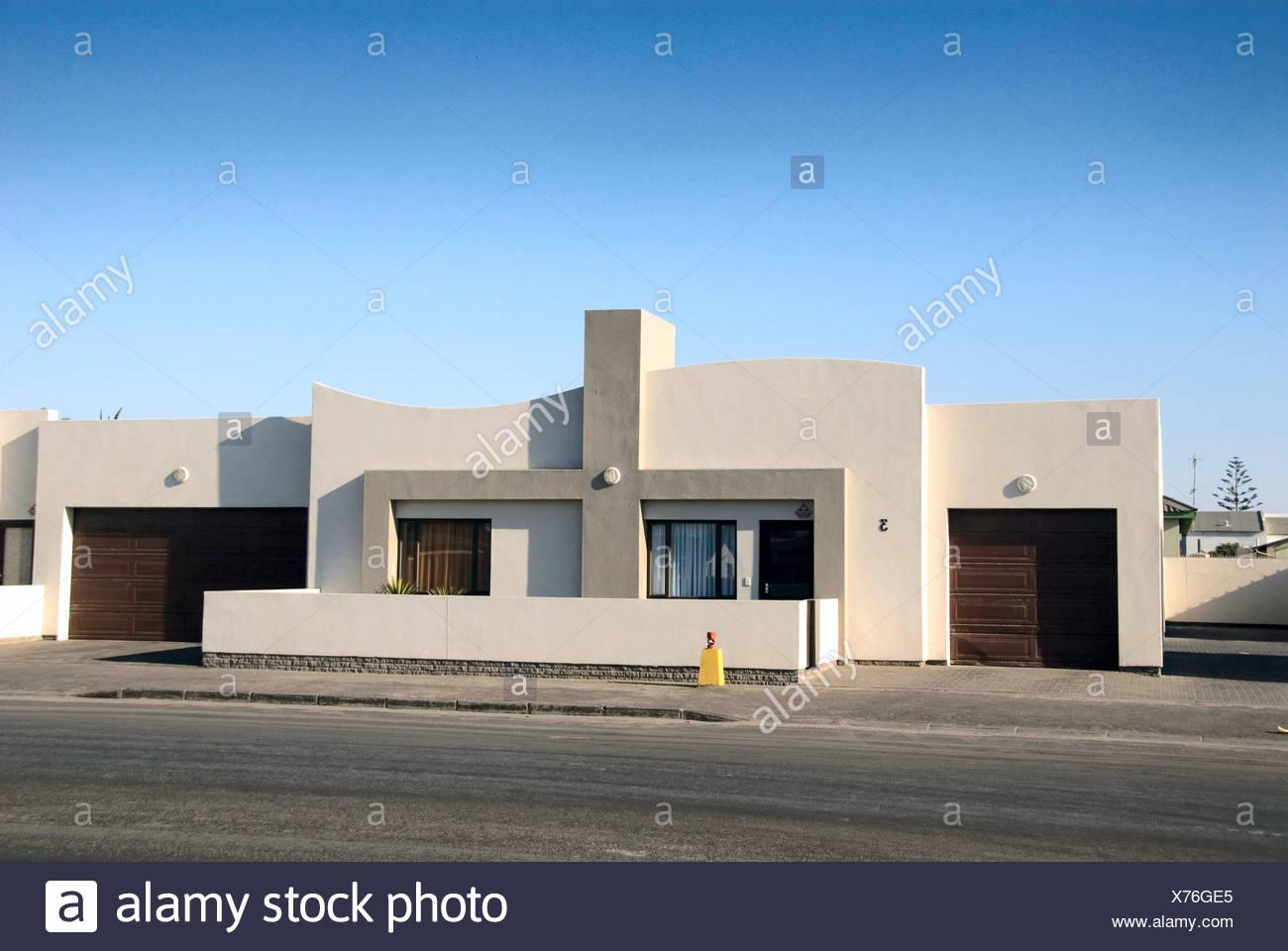 Afrika, Namibia, Walvis Bay, Wohnhaus, modernes Haus Stock Photo ...