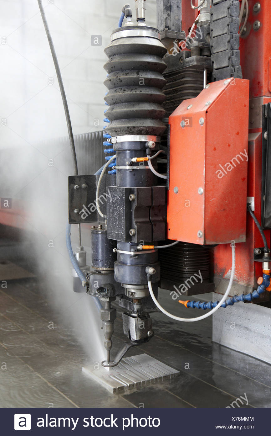 Abrasive waterjet technology cutting machine for metals and nonmetal