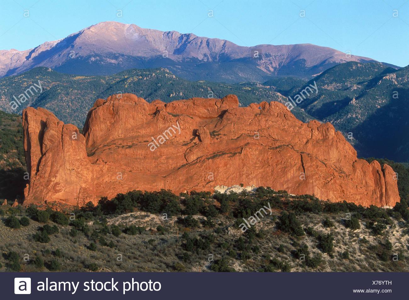 Usa Colorado Garden Of The Gods Colorado Springs Kissing