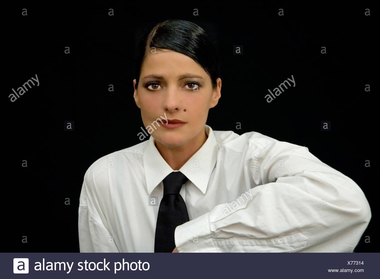 Woman macro close up macro admission close up view studio photography emotions