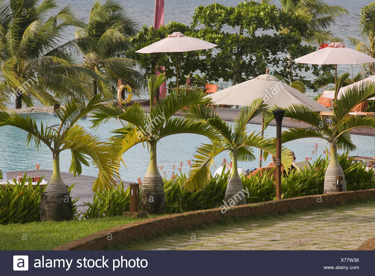 chen la resort.phu quoc island,vietnam,asia Stock Photo